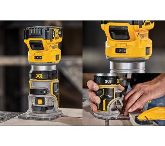 DEWALT DCW600B 20V Max XR Compact Router (Tool Only)