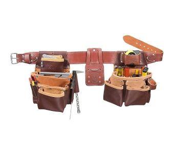 Occidental 5089 Seven Bag Framer Tool Belt Set, L